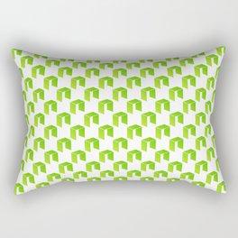 Neo - Crypto Fashion Art (Small) Rectangular Pillow