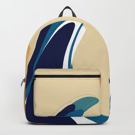 Waves and the sun Backpack