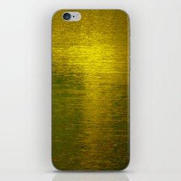 Gold Water I iPhone Skin
