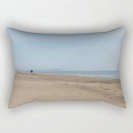 Broughty Ferry beach 2 Rectangular Pillow