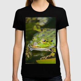 Green European Frog T-shirt