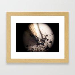 Graphite Framed Art Print