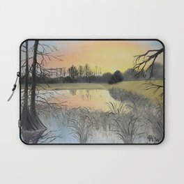 Nudity On The Water Laptop Sleeve