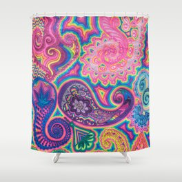 Goniochromism Shower Curtain