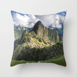 Machu Picchu, Peru Throw Pillow