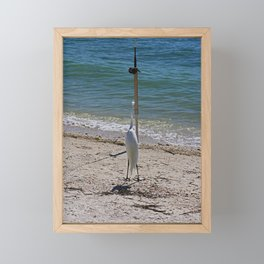 Wishin' I Was Fishin' Framed Mini Art Print