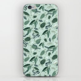 Endangered turtles iPhone Skin