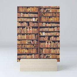 Books, books, books Mini Art Print
