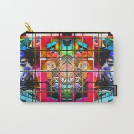 3-D-GEOMETRY AND COLOR. Carry-All Pouch