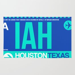 IAH Houston Luggage Tag 2 Rug