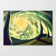 When the shadows come to life Canvas Print
