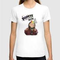 popeye T-shirts featuring POPEYE THE SAILOR MON - 018 by Lazy Bones Studios