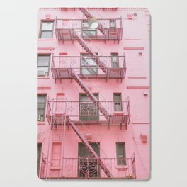 Pink Soho NYC Cutting Board