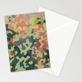 Camouflage XXXXV Stationery Cards