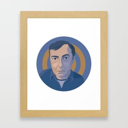 Queer Portrait - Jasper Johns Framed Art Print