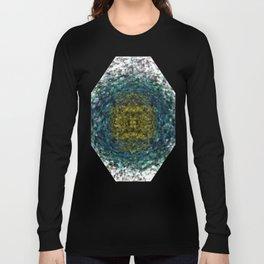 Geode Abstract 01 Long Sleeve T-shirt