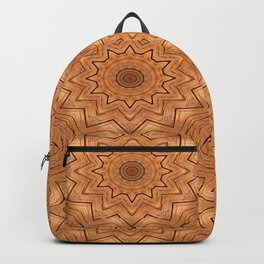 Wooden Wheel of the year of the ring kaleidoscope Backpack