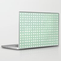 polka dots Laptop & iPad Skins featuring polka dots by JesseRayus