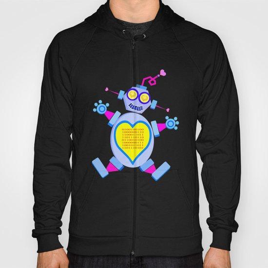 I Love You (In Binary)  |  Lovebot Hoody