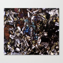 Pyroxene and Feldspar Canvas Print