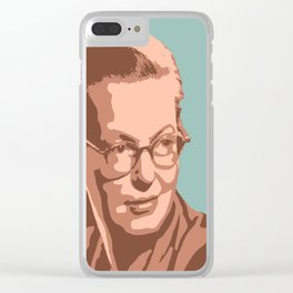 Shirley Jackson Clear iPhone Case