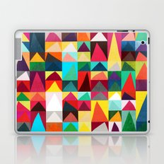 Abstract Geometric Mountains Laptop & iPad Skin