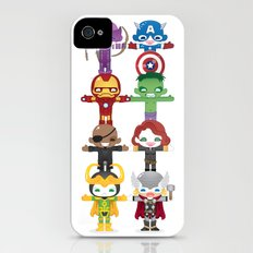 THE AVENGER'S 'ASSEMBLE' ROBOTICS iPhone (4, 4s) Slim Case