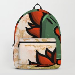 Huachicolero heart Backpack