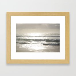 Sushine Camps Bay Beach Framed Art Print