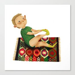 Little boy Canvas Print