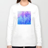 ice cream Long Sleeve T-shirts featuring Ice Cream by Benito Sarnelli