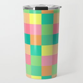 color squares fun love cute art new 2018 style fashion hot pop artist cover case skin shirt bag wall Travel Mug