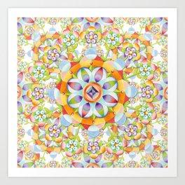 Beaux Arts Flower Crown Art Print