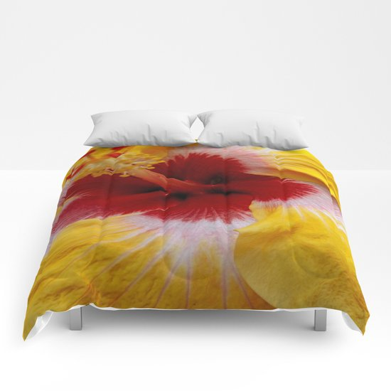 Yellow Burst Comforters