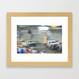 The Storm has arrived Framed Art Print