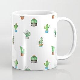 A Succulent Pattern Coffee Mug