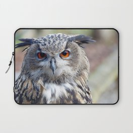 Eurasian Eagle-Owl, Uhu Laptop Sleeve