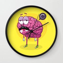 Brain Loading Wall Clock