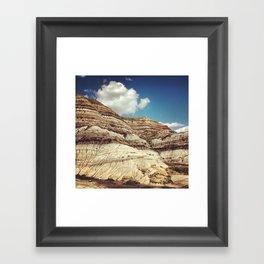 Striations Framed Art Print