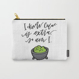 Extra Guac Carry-All Pouch