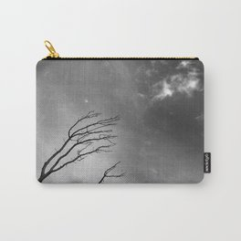 """""""Talking to the clouds"""" BW. Carry-All Pouch"""