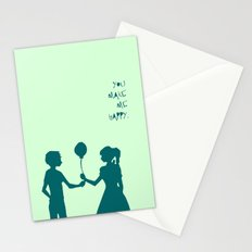 You Make Me Happy. Stationery Cards