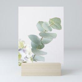 Gentle Soft Green Leaves #1 #decor #art #society6 Mini Art Print