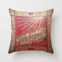 The Star of the Fairies Book Throw Pillow