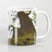 moss Mugs featuring Moss by Kallian