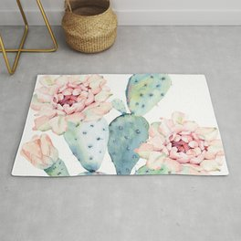 The Prettiest Cactus Rug