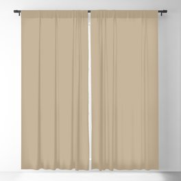 Autumn Baskets Neutral Beige Taupe Solid Color Pairs To Sherwin Williams Favorite Tan SW 6157 Blackout Curtain
