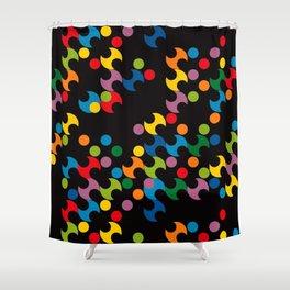 DOTS - polka 2 Shower Curtain