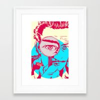 dali Framed Art Prints featuring Dali   by Vee Ladwa