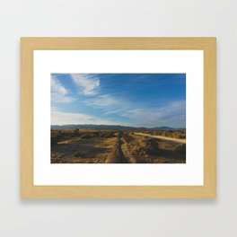 Los Angeles Aqueduct - Pacific Crest Trail, California Framed Art Print